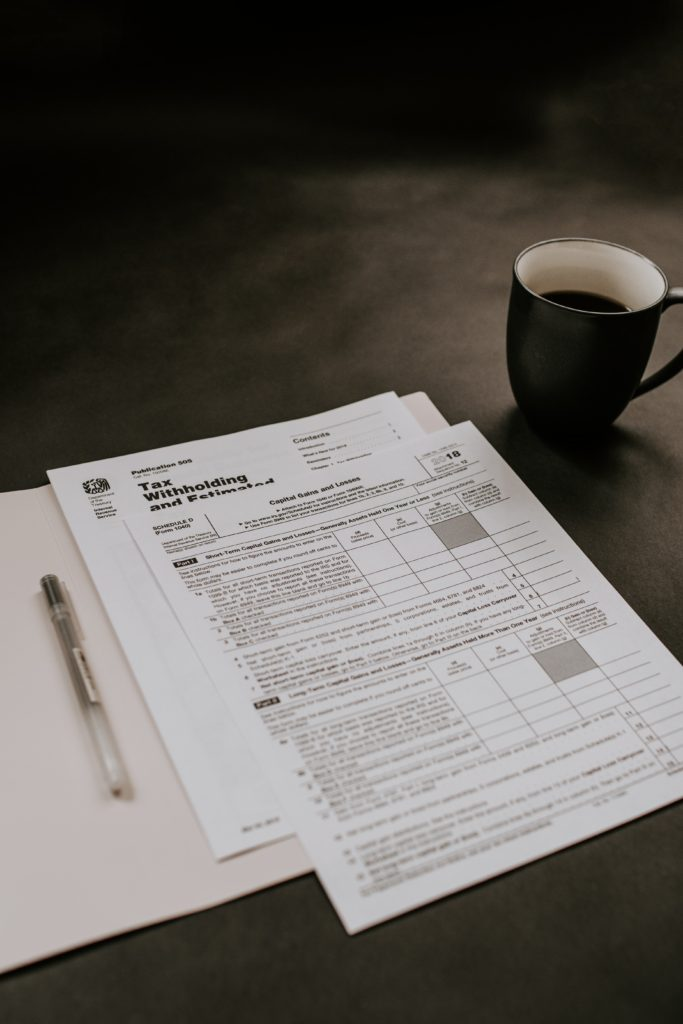 Tax return forms relating to Stamp Duty.